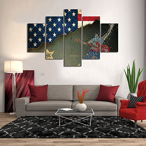 Contemporary Cool And Trendy Patriotic Wall Art