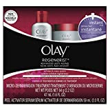 Microdermabrasion Kit by Olay Regenerist, Face Peel & Scrub for Dry Skin, Reduce Wrinkles & Fine Lines, 1 Kit