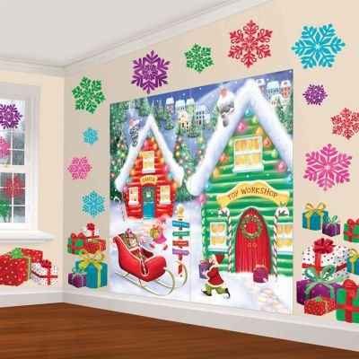Cheerful Festive And Adorable Christmas Wall Art Decor