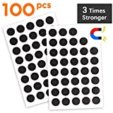 Flexible Magnet Round with Adhesive by House Again - Perfect for Crafts & DIY Projects, Hanging & Organizing Light Objects at Home Office or Warehouse, 100Pcs