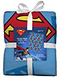 Superman No-Sew Throw Anti-Pill Fleece Fabric Kit