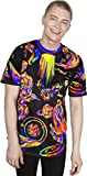 Splash Ink Icon Graphic Hidden Painting Bright Abstract Creative Design T-Shirt