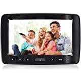 Headrest DVD Player for Car Can Use Both in Car or at Home as DVD Player eRapta Second Generation Gift Idea