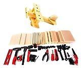 PowerTRC Kids DIY Workshop Kit with Faux Wood & Tools