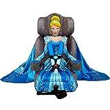 KidsEmbrace 2-in-1 Harness Booster Car Seat, Disney Princess Cinderella, Gray