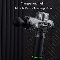 Household-items-Fascia-Gun-Deep-Muscle-Massager-Transparent-Shell-Used-to-Relieve-Muscle-Pain-Fascia-and-Low-Back-Pain-6-Speed-Variable-Frequency-Vibration