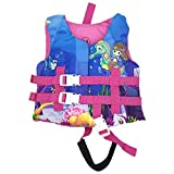 Silfrae Swim Vests Swim Floatation Vest Learn-to-Swim Device Weighing from 30 to 50 lbs (Swim Jacket-Rose Mermaid)