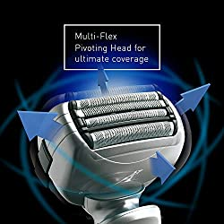 Panasonic ES-LA63-S Arc4 Men's Electric Razor, 4-Blade Cordless with Wet/Dry Shaver Convenience  Image 3