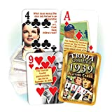 Flickback Media, Inc. 1939 Trivia Playing Cards: 80th Birthday or 80th