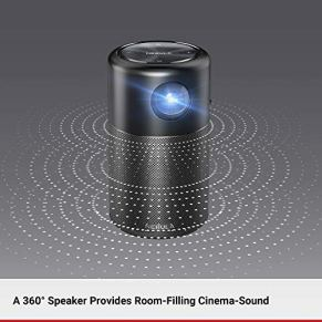 Nebula-Capsule-by-Anker-Smart-Wi-Fi-Mini-Projector-Black-100-ANSI-Lumen-Portable-Projector-360-Speaker-Movie-Projector-100-Inch-Picture-4-Hour-Video-Playtime-Outdoor-ProjectorWatch-Anywhere