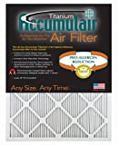 Accumulair Titanium 17x21x1 (Actual Size) High Efficiency Allergen Reduction Air Filter/Furnace Filters (2 Pack)