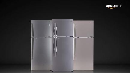 LG-260-L-3-Star-Frost-Free-Double-Door-Refrigerator-GL-I292RPZL-Shiny-Steel-Smart-Inverter-Compressor