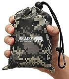 BEARZ Outdoor Beach Blanket/Compact Pocket Blanket 55″x60″,...