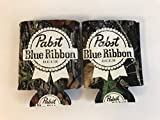 Pabst Blue Ribbon - Real Tree Camo - Beer Can Cooler - 2 Pk