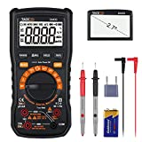Multimeter, Tacklife DM05 electronic tester, TRMS 6000 Counts, Auto-Ranging, Measuring Voltage Tester, Current, NCV, Resistance, Continuity, Frequency, Test Diode, Triode, Capacitance, Duty Cycle