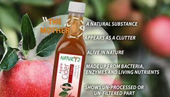 Naturyz Apple Cider Vinegar With Mother Vinegar