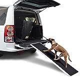 Goplus 6FT Pet Ramp Portable Aluminum Folding Dog Ramp for Car Truck SUV, 250lbs Capacity