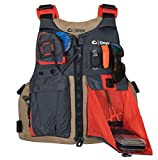 Onyx Kayak Fishing Life Jacket, Oversize, Tan