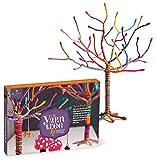 Craft-tastic – Yarn Tree Kit – Craft Kit Makes One 18' Tall Jewelry Organizer