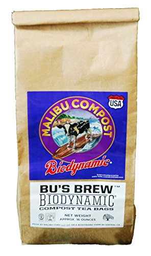 Malibu Compost Bu's Brew Biodynamic Compost Tea Bags, 1 lb
