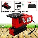 Sawing Machine, TBVECHI Portable 24W Mini Wood Jig-saw Sawing Machine DIY Woodworking Model Making Education 20000 rpm