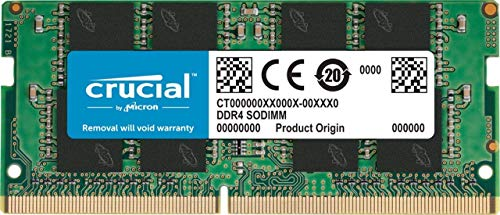 Crucial 4GB DDR4 1.2v 2400Mhz CL17 SODIMM RAM Memory Module for Laptops and Notebooks 79