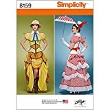 Simplicity Creative Patterns 8159 Misses' Cosplay Costumes with Corsets, R5 (14-16-18-20-22)