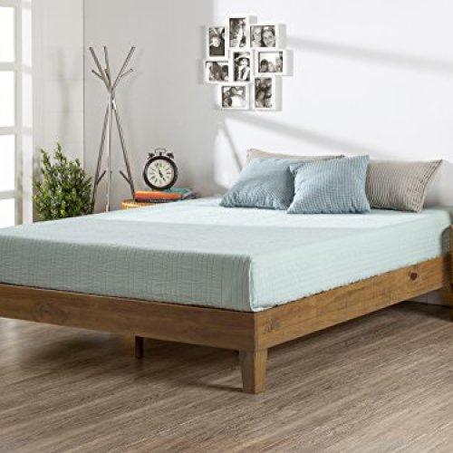 Deluxe Wood Platform Bed