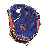Wilson A200 New York Mets Glove, Left Hand, 10', Royal/Orange