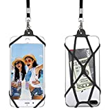 Gear Beast Universal Web Cell Phone Lanyard Compatible with iPhone, Galaxy & Most Smartphones, Includes Phone Case Holder,Neck Strap