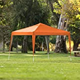 Best Choice Products 10x10ft Outdoor Portable Lightweight Folding Instant Pop Up Gazebo Canopy Shade Tent w/Adjustable Height, Wind Vent, Carrying Bag - Orange