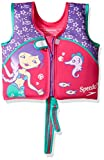 Speedo Kids UPF 50+ Begin to Swim Printed Neoprene Swim Vest, Berry/Grape, Medium