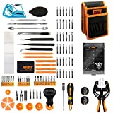 Jakemy Screwdriver Set, 99 in 1 Repair Tool kit, 50 Magnetic Precision Driver Bits, Pocket Tool Bag for iPhone 8/ Plus/PC/Macbook/Tablet