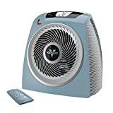 Vornado TAVH10 Vortex Heater with Auto Climate Control, 2 Heat Settings, Fan Only Option, 12-Hour Timer, Touch-Sensitive Digital Display, Remote, Advanced Safety Features Stormy Blue