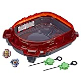 Beyblade Burst Turbo Slingshock Rail Rush Battle Set -- Complete Set with Burst Beystadium, Battling Tops, & Launchers -- Age 8+