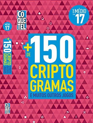 LIVRO COQUETEL + 150 CRIPTOGRAMAS E MAIS OUTROS JOGOS