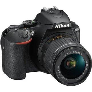Nikon Cámara Reflex D5600 conlente AF-P DX Nikkor 18-55mm f/3.5-5.6G VR