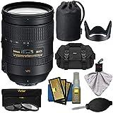 Nikon 28-300mm f/3.5-5.6 G VR AF-S ED Zoom-Nikkor Lens with 3 UV/ND8/CPL Filters + Case + Kit for D3200, D3300, D5300, D5500, D7100, D7200, D750, D810 Camera