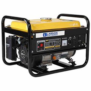 4 kW Portable Gas Powered Generator – 3300KW Continuous 4000KW Peak – Wheel and Handle Kit