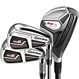 TaylorMade Golf M6 Combo Hybrid/Iron Set 4-5H, 6-PW, AW, Right Hand, Senior Flex, Graphite
