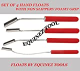 Product review for Equine Horse Dental Professional Teeth Floats 4 Pieces set with Foamy Grip