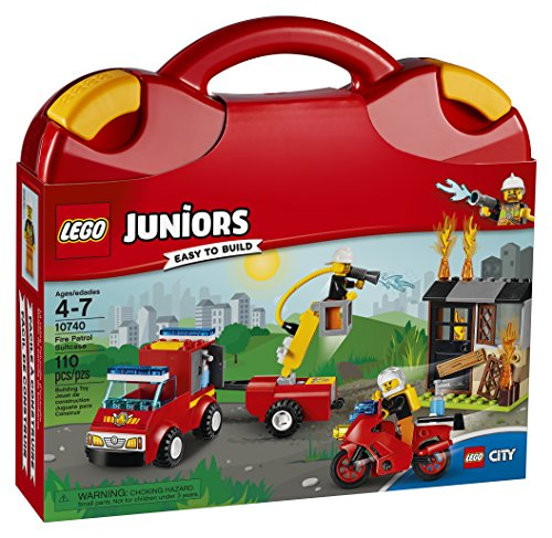 LEGO Juniors Fire Patrol Suitcase - LOW PRICE!