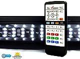 Finnex Planted+ 24/7 LED Klc Aquarium LED Light, Automated Full Spectrum Fish Tank Light, 46.5-48'