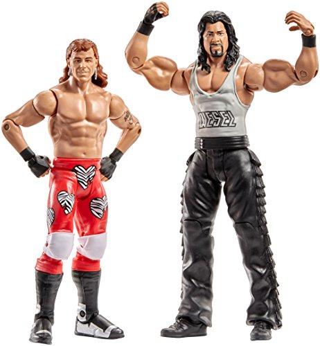 WWE Superstars Shawn Michaels & Diesel Action Figure (2 Pack)