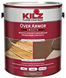 KILZ Over Armor Smooth Wood/Concrete Coating, 1 gallon, Chocolate Brown