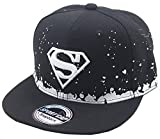 Ambiel Children Superman Snapback Adjustable Baseball Cap Sunhat White
