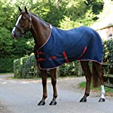 """Product review for Weatherbeeta Cotton Show Sheet Standard Neck Navy/Silver/Red 81"""""""