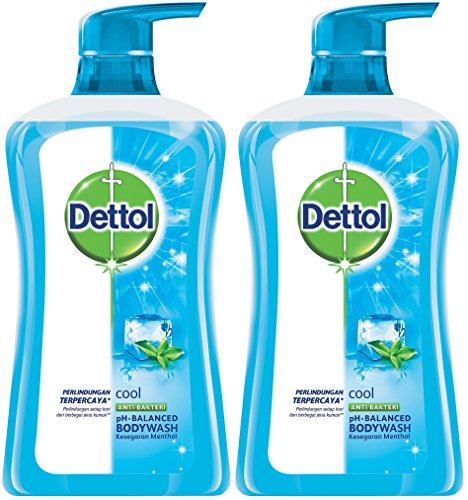 Dettol Anti Bacterial pH-Balanced Body Wash, Cool,...