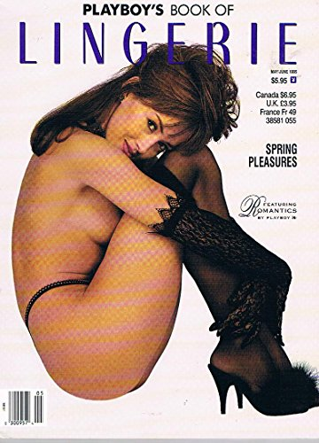 Playboy's Book Of Lingerie Playboy Press May/June 1995 Adult Magazine