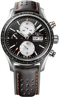 Ball Gents-Watch Fireman Storm Chaser Pro Chronograph Day-Date Automatic CM3090C-L1J-BK